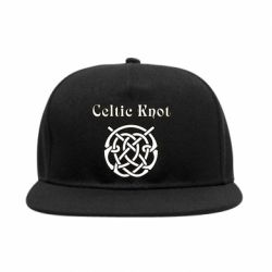 Снепбек Celtic knot black and white