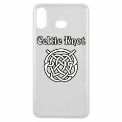 Чохол для Samsung A6s Celtic knot black and white