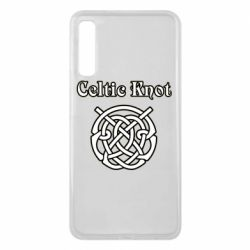 Чохол для Samsung A7 2018 Celtic knot black and white