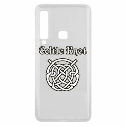 Чохол для Samsung A9 2018 Celtic knot black and white