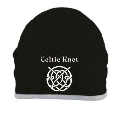 Шапка Celtic knot black and white