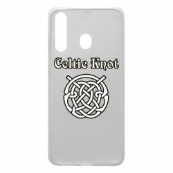 Чохол для Samsung A60 Celtic knot black and white