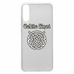 Чохол для Samsung A70 Celtic knot black and white