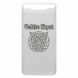 Чохол для Samsung A80 Celtic knot black and white