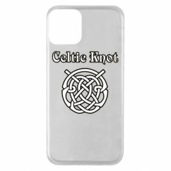 Чохол для iPhone 11 Celtic knot black and white