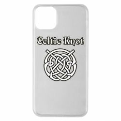 Чохол для iPhone 11 Pro Max Celtic knot black and white