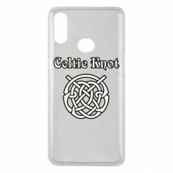 Чохол для Samsung A10s Celtic knot black and white