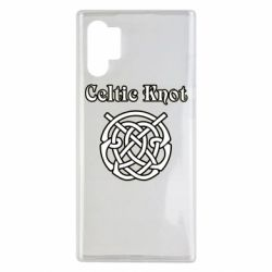 Чохол для Samsung Note 10 Plus Celtic knot black and white