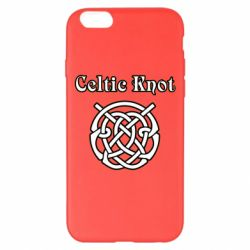 Чохол для iPhone 6 Plus/6S Plus Celtic knot black and white