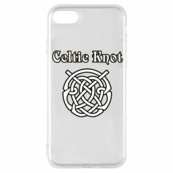 Чохол для iPhone 7 Celtic knot black and white