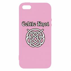 Чохол для iphone 5/5S/SE Celtic knot black and white