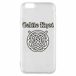Чохол для iPhone 6/6S Celtic knot black and white