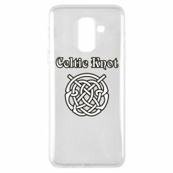 Чохол для Samsung A6+ 2018 Celtic knot black and white