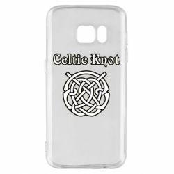 Чохол для Samsung S7 Celtic knot black and white