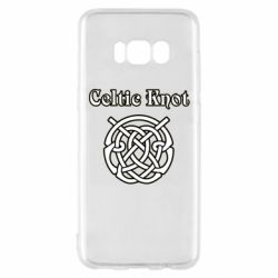 Чохол для Samsung S8 Celtic knot black and white
