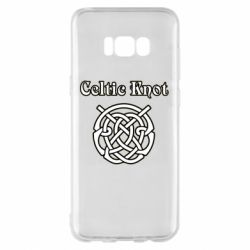 Чохол для Samsung S8+ Celtic knot black and white