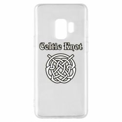 Чохол для Samsung S9 Celtic knot black and white