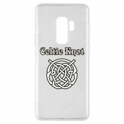 Чохол для Samsung S9+ Celtic knot black and white