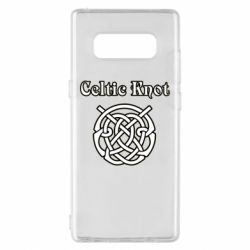 Чохол для Samsung Note 8 Celtic knot black and white