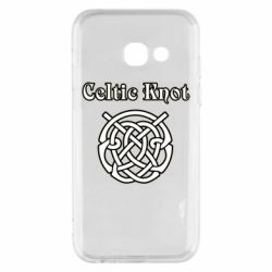 Чохол для Samsung A3 2017 Celtic knot black and white