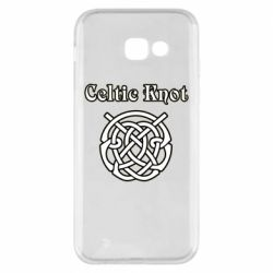Чохол для Samsung A5 2017 Celtic knot black and white