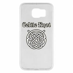 Чохол для Samsung S6 Celtic knot black and white