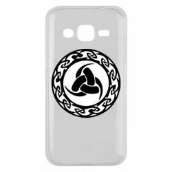 Чохол для Samsung J2 2015 Celtic knot circle
