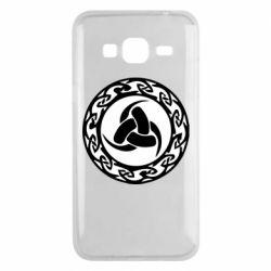 Чохол для Samsung J3 2016 Celtic knot circle