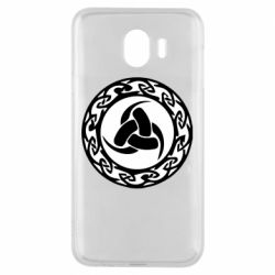Чохол для Samsung J4 Celtic knot circle