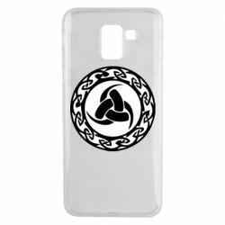 Чохол для Samsung J6 Celtic knot circle