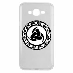 Чохол для Samsung J7 2015 Celtic knot circle