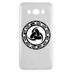 Чохол для Samsung J7 2016 Celtic knot circle