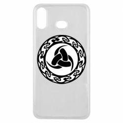 Чохол для Samsung A6s Celtic knot circle