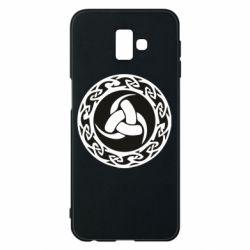 Чохол для Samsung J6 Plus 2018 Celtic knot circle