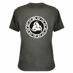 Камуфляжна футболка Celtic knot circle