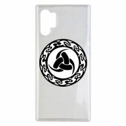 Чохол для Samsung Note 10 Plus Celtic knot circle