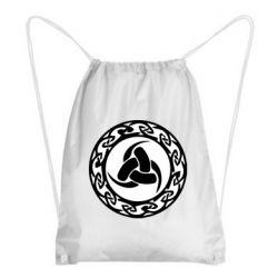 Рюкзак-мішок Celtic knot circle