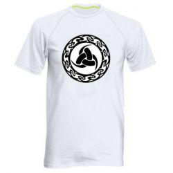 Чоловіча спортивна футболка Celtic knot circle