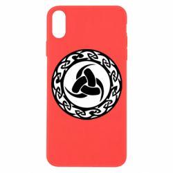 Чохол для iPhone X/Xs Celtic knot circle