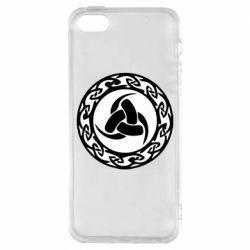 Чохол для iphone 5/5S/SE Celtic knot circle