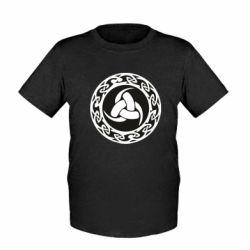 Дитяча футболка Celtic knot circle