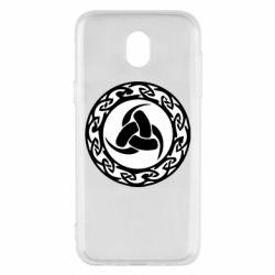 Чохол для Samsung J5 2017 Celtic knot circle