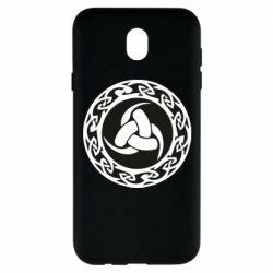 Чохол для Samsung J7 2017 Celtic knot circle