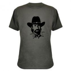 Камуфляжная футболка Чак Норис - FatLine