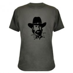 Камуфляжна футболка Чак Норіс - FatLine
