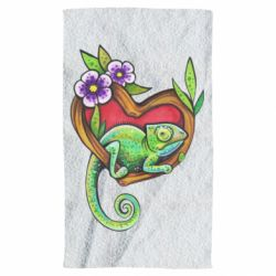 Рушник Chameleon on a branch