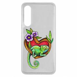 Чехол для Xiaomi Mi9 SE Chameleon on a branch