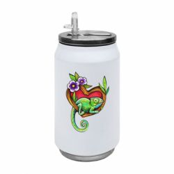 Термобанка 350ml Chameleon on a branch