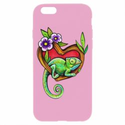 Чохол для iPhone 6/6S Chameleon on a branch