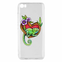 Чехол для Xiaomi Mi5/Mi5 Pro Chameleon on a branch